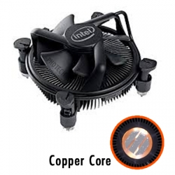 Intel LGA115x Stock Cooler - Black Edition with Copper Core