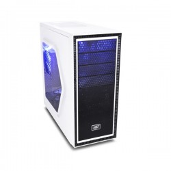 Deepcool Tesseract SW White Mid Tower Chassis DP-ATX-TSRSWWH