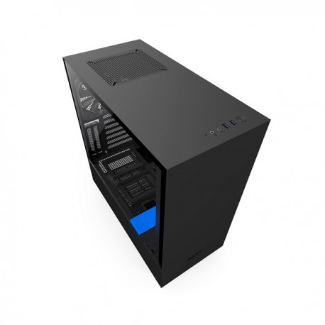 Nzxt H500i Black Blue Atx Smart Case Photech Computers