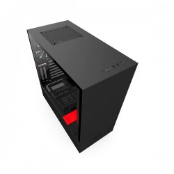 NZXT H500i Black & Red ATX Smart Case NZT-CA-H500W-BR
