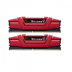 G.Skill Ripjaws V 8GB (2x4GB) Blazing Red 2400MHz DDR4 - F4-2400C15D-8GVR