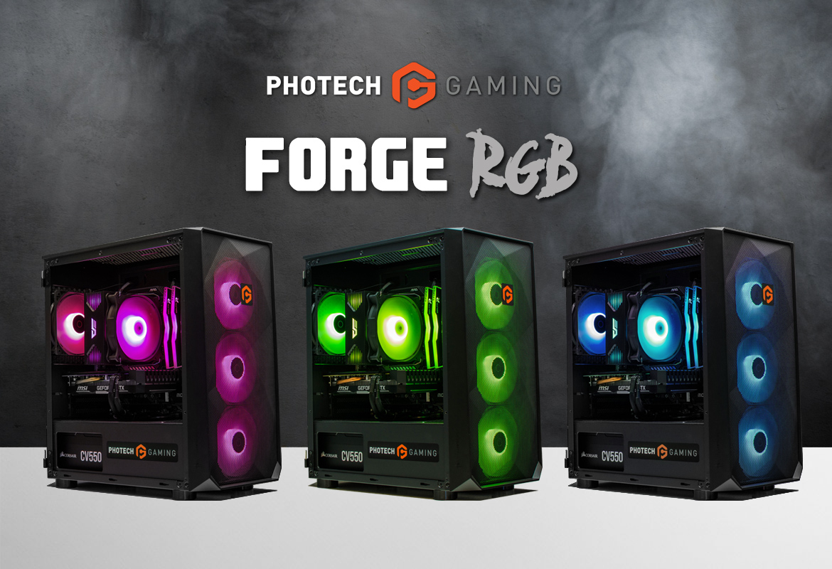 Photech FORGE RGB Colours