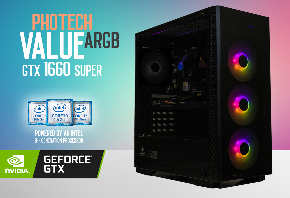Photech VALUE A-RGB GTX 1660 SUPER Gaming System