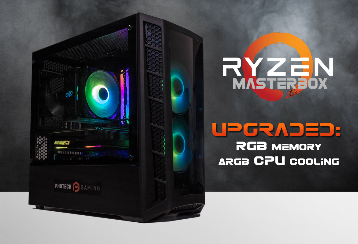 PHOTECH GAMING RYZEN MasterBox ARGB Upgrades